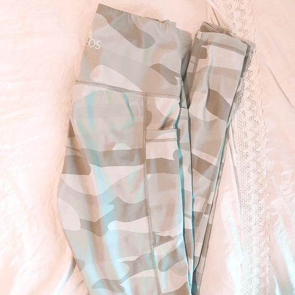 Pants - White camo leggings
